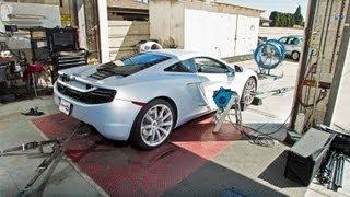Download 2012 McLaren MP4-12C | Dyno Test Video