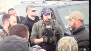 Download Historic Heavily Armed Idaho 3 Percenters Roll Up On FBI Compound in Burns, OR Pacific Patriot Netwo Video