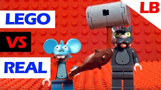 Download LEGO ITCHY & SCRATCHY ESOPHAGUS NOW COMPARISON Video