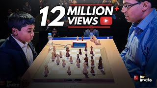 Download Praggnanandhaa vs Vishy Anand | Tata Steel Chess India Blitz 2018 Video