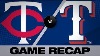 Download Polanco's 3-run triple propels Twins to win | Twins-Rangers Game Highlights 8/18/19 Video