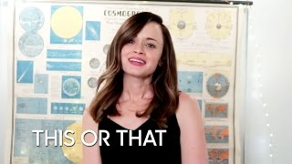 Download This or That: Gilmore Girls Edition with Alexis Bledel Video