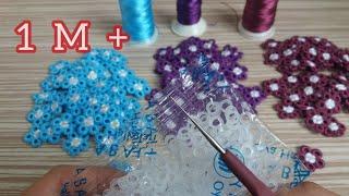 Download 🌼 Sipariş Rekorları Kıran Muhteşem Tığ İşi Motifım 😀🌼 Çok güzel oldu 👏Turkish Handmade/Knitting Video