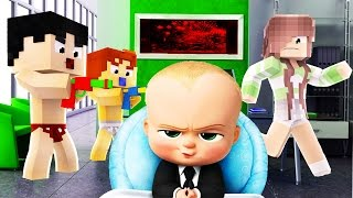 Download Minecraft - BOSS BABY - BABY KILLS BABYSITTER?! Video