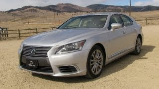 Download 2013 Lexus LS460 0-60 MPH Test, Drive and Review Video