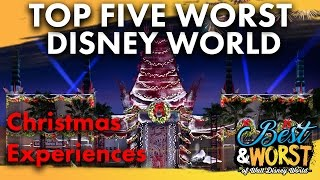 Download TOP 5 WORST Experiences at Walt Disney World during Christmas! | Best & Worst | 11/30/16 Video