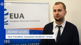 Download EUA Learning & Teaching Initiative - Adam Gajek, European Student's Union Video