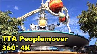 Download TTA Peoplemover 360° 4K Full Ride - Magic Kingdom - Walt Disney World Video