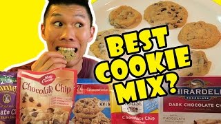 Download COMPARING BEST CHOCOLATE CHIP COOKIE MIXES || Life After College: Ep. 521 Video
