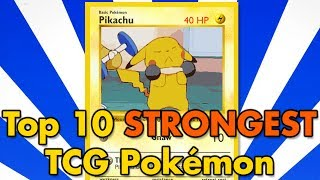 Download Top 10 All-Time Strongest TCG Pokémon Video