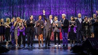 Download Colbert, celebrity alumni reunite backstage at CommFest Video