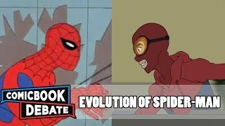 Download Evolution of Spider-Man in Cartoons in 11 Minutes (2017) Video