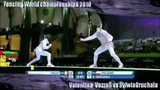 Download Valentina Vezzali vs Sylwia Gruchala Paris 2010 World Fencing Video