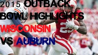 Download #18 Wisconsin vs #19 Auburn - 2015 Outback Bowl Highlights [HD] Video