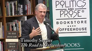 Download Timothy Snyder, ″The Road to Unfreedom″ Video