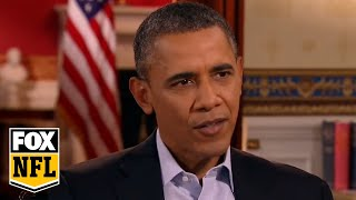 Download Bill O'Reilly interviews President Obama before the Super Bowl Video