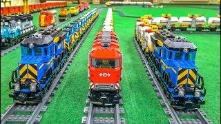 Download LEGO train ACTION! Model trains! EPIC COMPILATION! Video