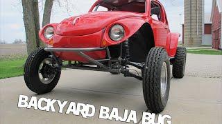 Download Baja Bug, Backyard build, Cover of Hot VW Magazine 11-2014 Video