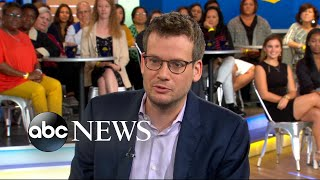 Download John Green discusses his new book 'Turtles All The Way Down' Video