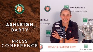 Download Ashleigh Barty - Press Conference after Women's Final Victory | Roland-Garros 2019 Video