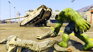 Download GTA 5 Mods - INCREDIBLE HULK MOD! HULK VS MILITARY BASE! (GTA 5 Mod Gameplay) Video