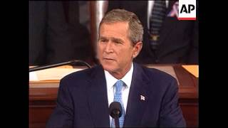 Download President George W. Bush addresses a Joint Congress about the War on Terror Video