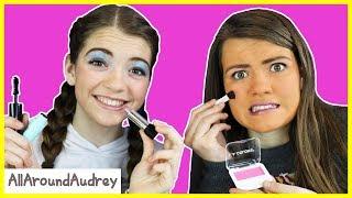 Download Dollar Store Full Face Makeup Challenge / AllAroundAudrey Video