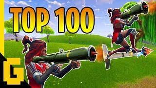 Download TOP 100 BEST PLAYS IN FORTNITE - Epic moments compilation of 2018 Video