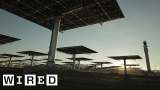 Download Crescent Dunes Solar Energy Project Part 2: Building the Power Plant-The Window-WIRED Video