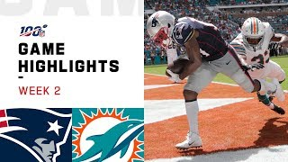 Download Patriots vs. Dolphins Week 2 Highlights | NFL 2019 Video
