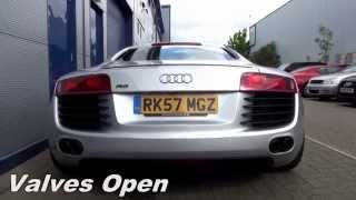 Download Armytrix F1 Exhaust: Audi R8 V8 Video