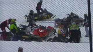 Download 501-600 Snowmobile Heat Two | Stateline Speedway | 2-21-15 Video