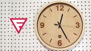 Download Как сделать деревянные часы своими руками из старых? Лазерная резка деревянных часов Video