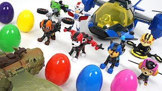 Download Dragon jelly attack!! Paw Patrol Mission Paw air rescue transform and surprise eggs!! - DuDuPopTOY Video