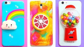 Download 6 DIY STRESS RELIEVER PHONE CASES | Easy & Cute Phone Projects & iPhone Hacks Video