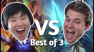 Download (Hearthstone) Kibler VS Disguised Toast: Best of 3 Meme Mastery Video