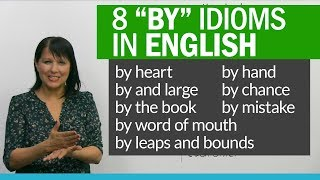 Download 8 English Idioms to learn BY heart! Video