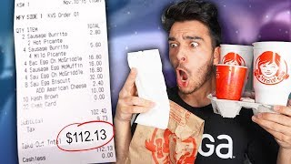 Download Letting The Person in Front of Me DECIDE What I Eat for 24 HOURS! (Impossible Food Challenge) Video