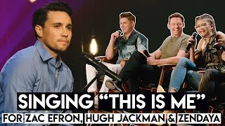 Download Singing ″This Is Me″ for Zac Efron, Hugh Jackman & Zendaya (from The Greatest Showman Movie) Video