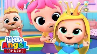 Download ¡Vamos a Jugar a las Princesas! 👸🏼| Canciones Infantiles | Little Angel Español Video
