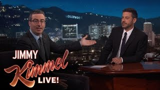 Download Jimmy Kimmel Doubts John Oliver's Sincerity After Emmy Win Video