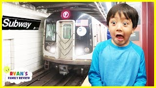 Download Ryan's First Subway Train Ride ever! Video
