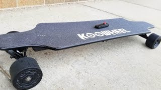 Download Koowheel ONYX Electric Skateboard Unboxing, review & Fidget Spinner GIVEAWAY. Video