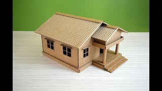 Download Make a Beautiful House from Cardboard - simple DIY Video