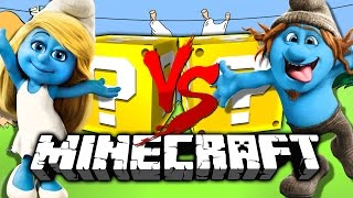 Download Minecraft: SMURF LUCKY BLOCK CHALLENGE | DON'T CALL PETA Video