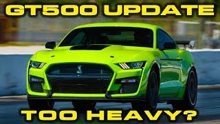 Download GT500 UPDATE * BYE BYE RED EYE * 2020 Mustang GT500 Weight revealed & 1/4 Mile Estimate Video