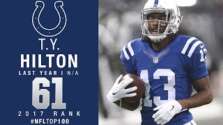 Download #61: T.Y. Hilton (WR, Colts) | Top 100 Players of 2017 | NFL Video