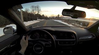 Download 2013 Audi S4 Exhaust Sound Modes Comparison (winding road driving) Video