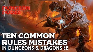 Download Ten Common Rules Mistakes in Dungeons and Dragons 5e Video