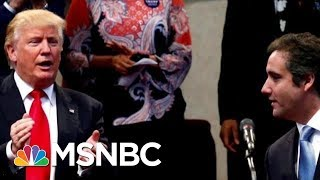 Download Docs: Donald Trump Discussed Squashing Stories About Affairs | Velshi & Ruhle | MSNBC Video